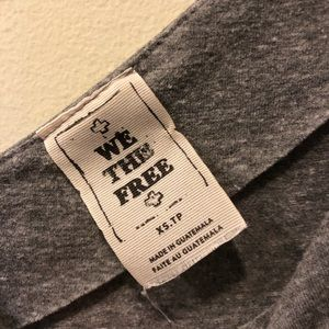 Free People Tops - Free People Saratoga One-Shoulder Top - Grey